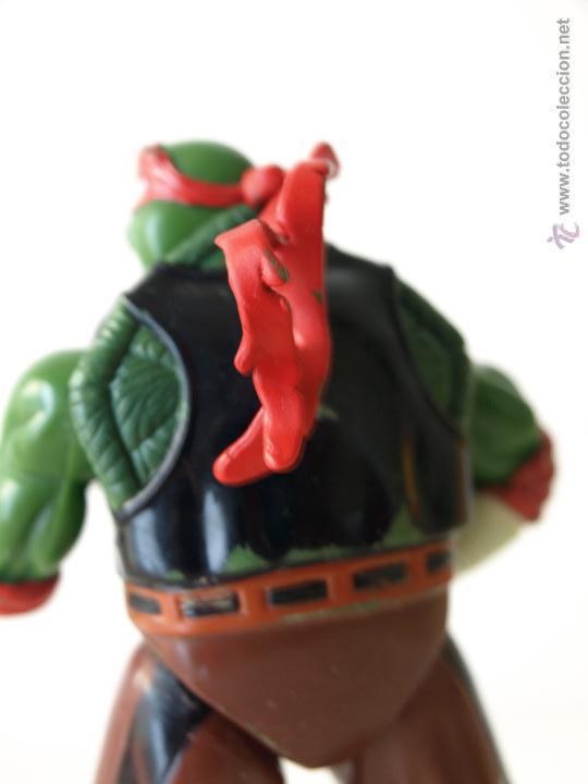 Figuras y Muñecos Tortugas Ninja: TORTUGA NINJA ARTICULADA. 12 CM ALTO. 1997 MIRAGE STUDIOS.PLAYMATES TOYS. VER FOTOS Y DESCRIPCION. - Foto 7 - 42154095