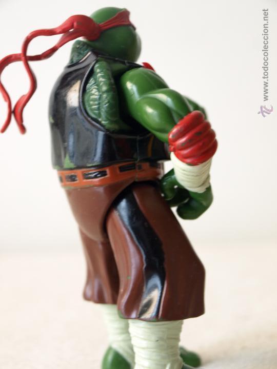 Figuras y Muñecos Tortugas Ninja: TORTUGA NINJA ARTICULADA. 12 CM ALTO. 1997 MIRAGE STUDIOS.PLAYMATES TOYS. VER FOTOS Y DESCRIPCION. - Foto 8 - 42154095