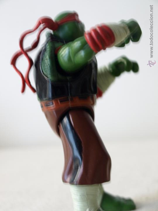 Figuras y Muñecos Tortugas Ninja: TORTUGA NINJA ARTICULADA. 12 CM ALTO. 1997 MIRAGE STUDIOS.PLAYMATES TOYS. VER FOTOS Y DESCRIPCION. - Foto 9 - 42154095