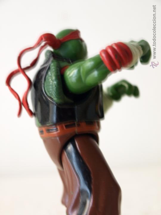 Figuras y Muñecos Tortugas Ninja: TORTUGA NINJA ARTICULADA. 12 CM ALTO. 1997 MIRAGE STUDIOS.PLAYMATES TOYS. VER FOTOS Y DESCRIPCION. - Foto 10 - 42154095