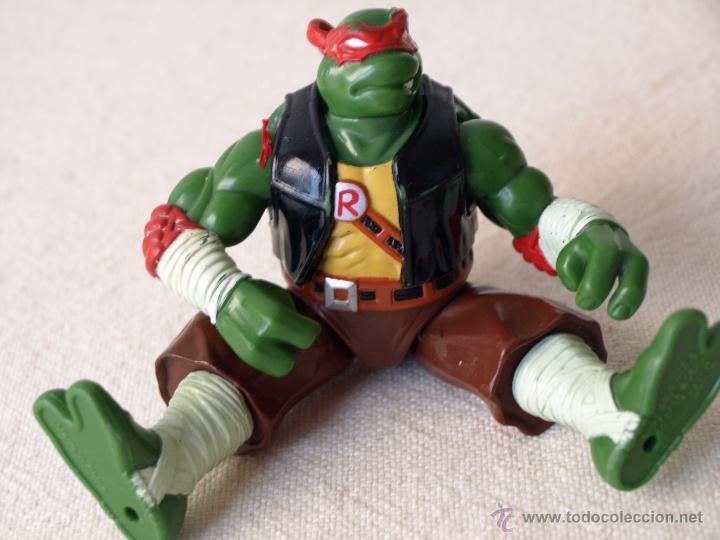 Figuras y Muñecos Tortugas Ninja: TORTUGA NINJA ARTICULADA. 12 CM ALTO. 1997 MIRAGE STUDIOS.PLAYMATES TOYS. VER FOTOS Y DESCRIPCION. - Foto 13 - 42154095