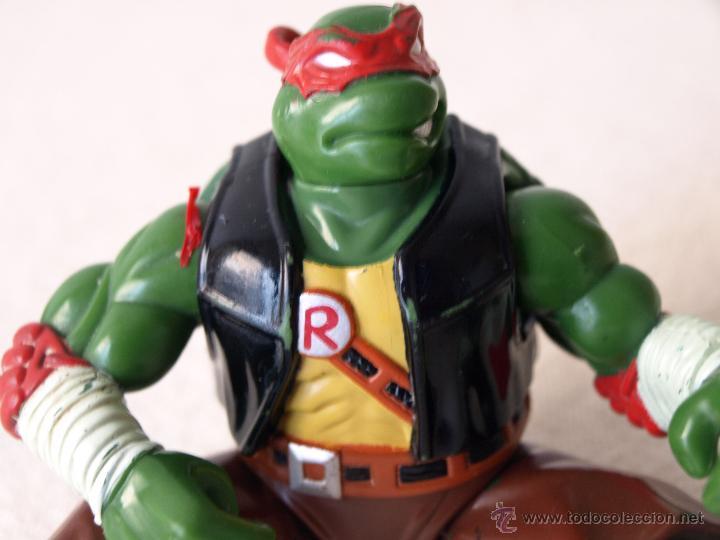 Figuras y Muñecos Tortugas Ninja: TORTUGA NINJA ARTICULADA. 12 CM ALTO. 1997 MIRAGE STUDIOS.PLAYMATES TOYS. VER FOTOS Y DESCRIPCION. - Foto 14 - 42154095