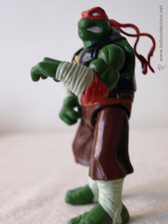 Figuras y Muñecos Tortugas Ninja: TORTUGA NINJA ARTICULADA. 12 CM ALTO. 1997 MIRAGE STUDIOS.PLAYMATES TOYS. VER FOTOS Y DESCRIPCION. - Foto 15 - 42154095