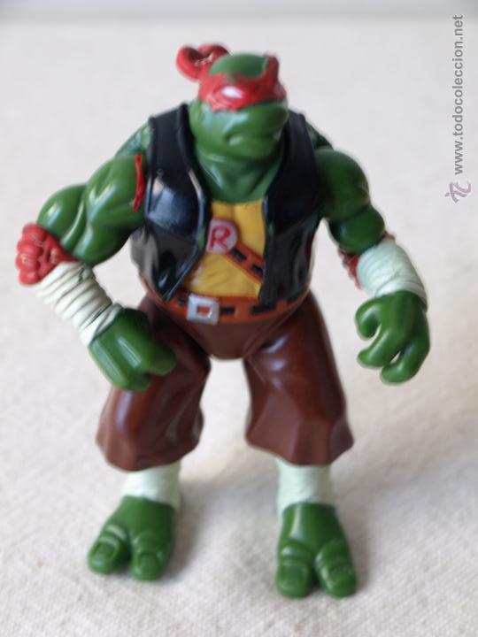 Figuras y Muñecos Tortugas Ninja: TORTUGA NINJA ARTICULADA. 12 CM ALTO. 1997 MIRAGE STUDIOS.PLAYMATES TOYS. VER FOTOS Y DESCRIPCION. - Foto 16 - 42154095