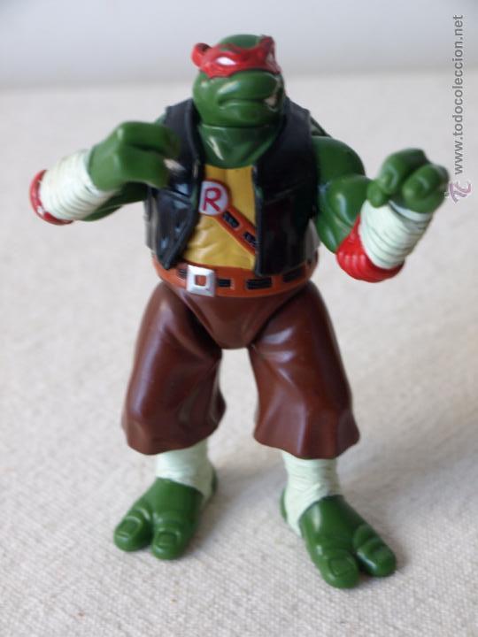 Figuras y Muñecos Tortugas Ninja: TORTUGA NINJA ARTICULADA. 12 CM ALTO. 1997 MIRAGE STUDIOS.PLAYMATES TOYS. VER FOTOS Y DESCRIPCION. - Foto 17 - 42154095