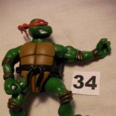 Figuras y Muñecos Tortugas Ninja: FIGURA DE ACCION TORTUGA NINJA - ENVIO GRATIS A ESPAÑA . Lote 43321475