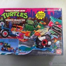 Figuras y Muñecos Tortugas Ninja - TORTUGAS NINJA SEWER DRAGSTER SIN USAR - 43348396