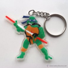 Figuras y Muñecos Tortugas Ninja: TMNT TORTUGAS NINJA LLAVERO DE GOMA. Lote 43473770