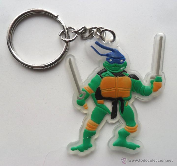 TMNT TORTUGAS NINJA LLAVERO DE GOMA (Juguetes - Figuras de Acción - Tortugas Ninja)