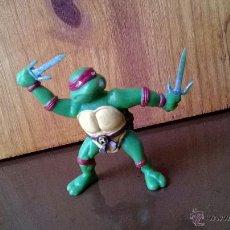 Figuras y Muñecos Tortugas Ninja: FIGURA DE GOMA TORTUGA NINJA RAPHAEL YOLANDA 1999 MIRAGE ESTUDIOS . Lote 43797453