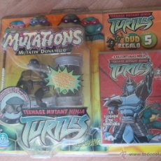 Figuras y Muñecos Tortugas Ninja: BLISTER TORTUGAS NINJA DONATELLO CON DVD. Lote 43862092
