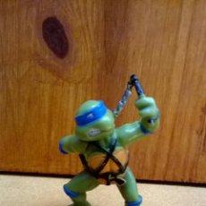 Figuras y Muñecos Tortugas Ninja: FIGURA DE GOMA TORTUGAS NINJA LEONARDO YOLANDA 1999 MIRAGE ESTUDIOS . Lote 43923224