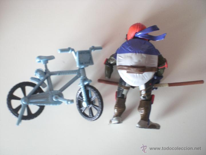 Figuras y Muñecos Tortugas Ninja: Muñeco Tortugas Ninja Donatello Bikin Don de 13 cm Playmates - Foto 2 - 44449000