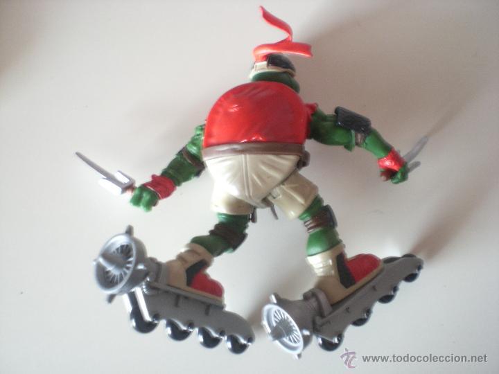Figuras y Muñecos Tortugas Ninja: Muñeco Tortugas Ninja Raphael Bikin Raph de 13 cm Playmates - Foto 2 - 44449211