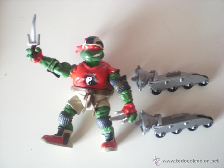 Figuras y Muñecos Tortugas Ninja: Muñeco Tortugas Ninja Raphael Bikin Raph de 13 cm Playmates - Foto 3 - 44449211