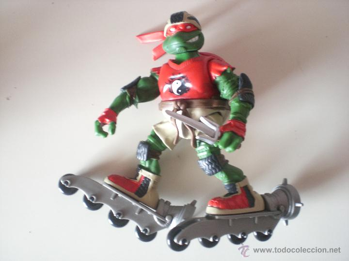 MUÑECO TORTUGAS NINJA RAPHAEL BIKIN RAPH DE 13 CM PLAYMATES (Juguetes - Figuras de Acción - Tortugas Ninja)