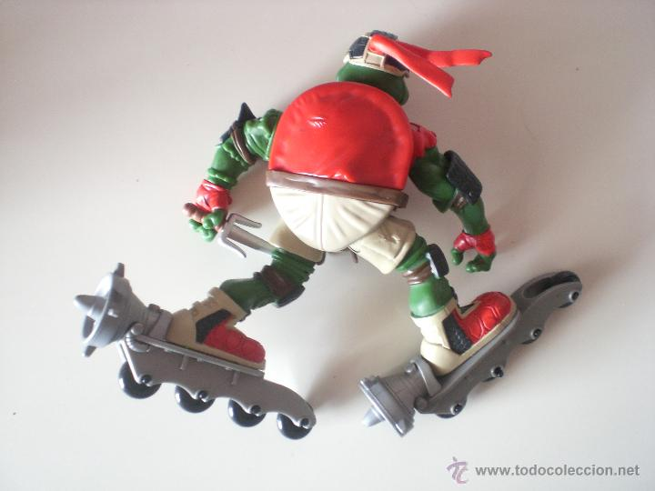 Figuras y Muñecos Tortugas Ninja: Muñeco Tortugas Ninja Raphael Bikin Raph de 13 cm Playmates - Foto 2 - 44449352