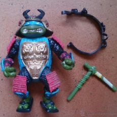 Figuras y Muñecos Tortugas Ninja: TORTUGA NINJA BANDAI LEONARDO SAMURAI, AÑOS 90. Lote 45109864