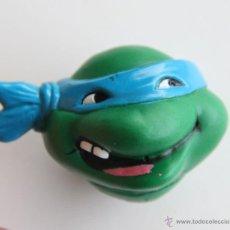 Figuras y Muñecos Tortugas Ninja: TORTUGAS NINJA CABEZA DISPARA AGUA LEONARDO JUGUETE 1990. Lote 45819082