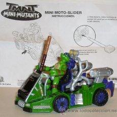 Figuras y Muñecos Tortugas Ninja: TORTUGA NINJA - VEHICULO - DONATELLO - PLAYMATES TOYS - AÑO 2007. Lote 45950727