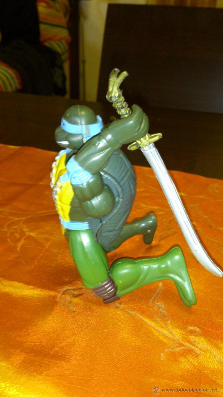 Figuras y Muñecos Tortugas Ninja: Figura de tortuga ninja de plástico duro Articulado .15,5 cm - Foto 4 - 46376909