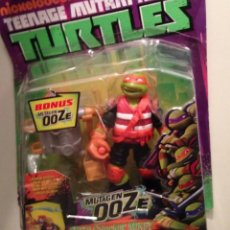 Figuras y Muñecos Tortugas Ninja: EDD TEENAGE MUTANT NINJA TURTLES TMNT TORTUGAS NINJA MUTAGEN OOZE CHUCKIN MIKEY. Lote 72146102