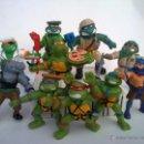 Figuras y Muñecos Tortugas Ninja: INCREIBLE COLECCION 10 FIGURAS VVINTAGE PVC TORTUGAS NINJA AÑOS 90 NINJA TRUTLES. Lote 120436987