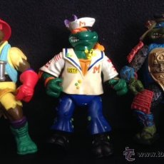 Figuras y Muñecos Tortugas Ninja: LOTE MUÑECO FIGURA LAS TORTUGAS NINJA ORIGINALES AÑOS 90. Lote 48847789