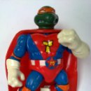 Figuras y Muñecos Tortugas Ninja: FIGURA TORTUGAS SUPER MIKELANGELO NINJA VINTAGE TURTLES NINJA VINTAGE. Lote 48926528