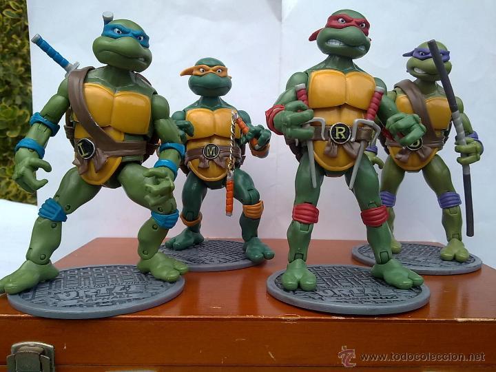 TORTUGAS NINJA EDICION LIMITADA COMPLETAS EDICION COLECCIONISTAS.+ EXTRAS (Juguetes - Figuras de Acción - Tortugas Ninja)