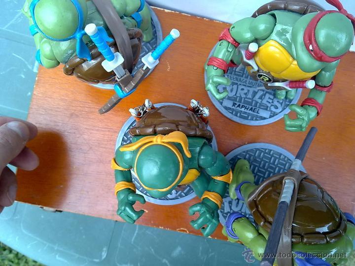 Figuras y Muñecos Tortugas Ninja: TORTUGAS NINJA EDICION LIMITADA COMPLETAS EDICION COLECCIONISTAS.+ EXTRAS - Foto 2 - 126784682