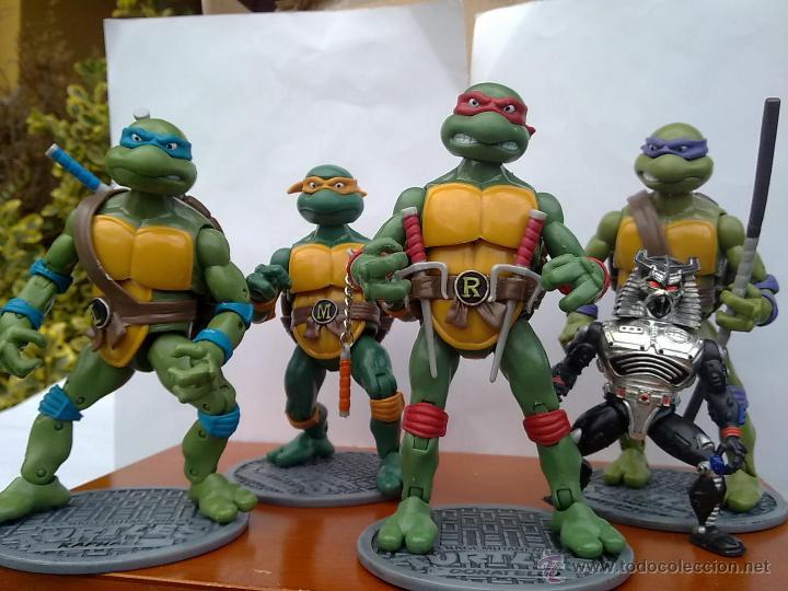Figuras y Muñecos Tortugas Ninja: TORTUGAS NINJA EDICION LIMITADA COMPLETAS EDICION COLECCIONISTAS.+ EXTRAS - Foto 3 - 126784682