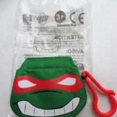 Figuras y Muñecos Tortugas Ninja: TORTUGAS NINJA TMNT TEENAGE MUTANT NINJA TURTLES RAPHAEL NINJA POUCH KFC 2008. Lote 49339712