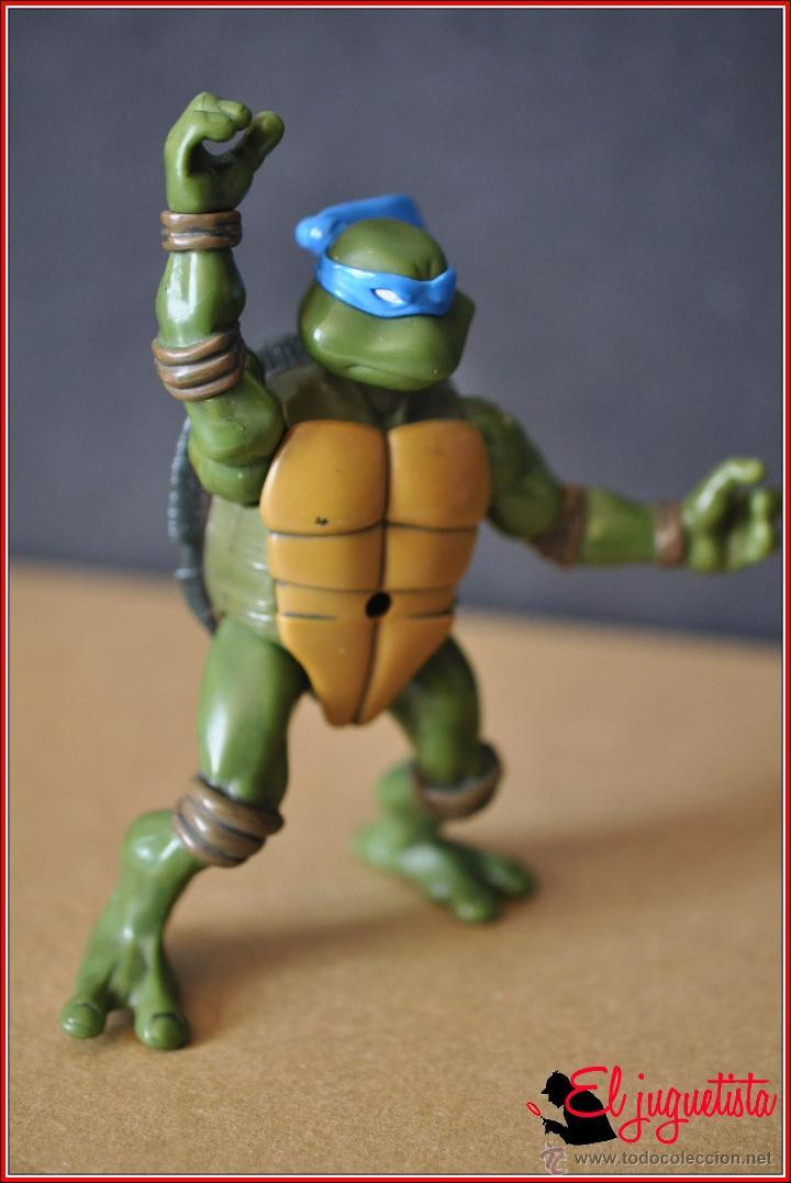 TORTUGAS NINJA - MIRAGE ESTUDIOS - PLAYMATES TOYS 2002 - LEONARDO (Juguetes - Figuras de Acción - Tortugas Ninja)