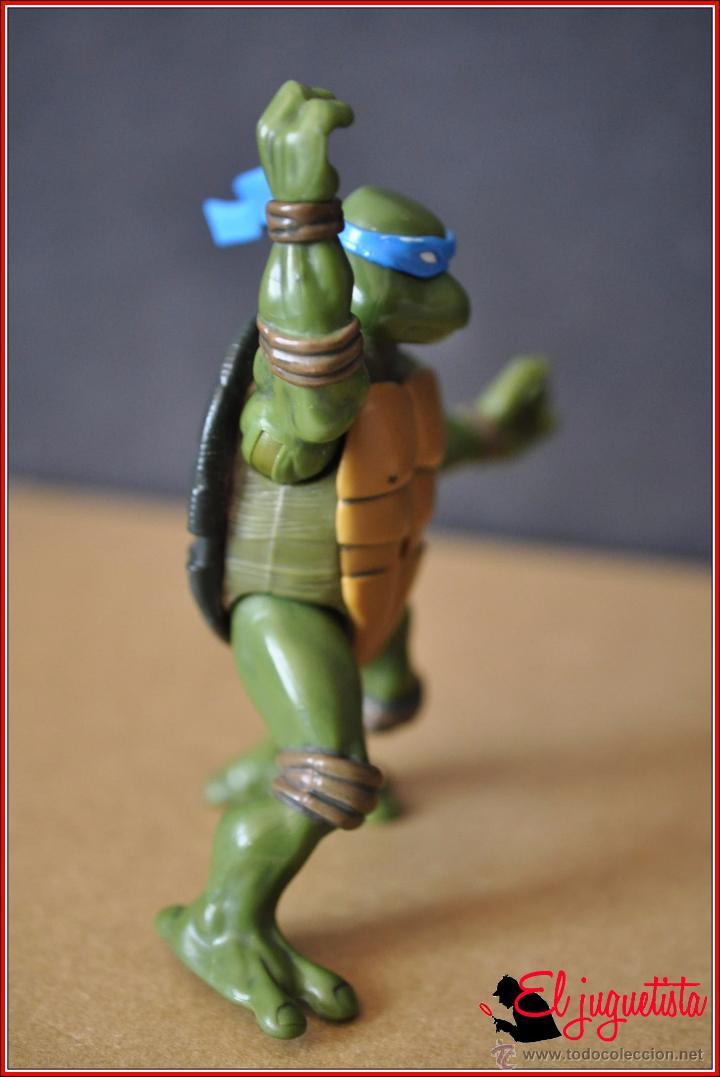 Figuras y Muñecos Tortugas Ninja: TORTUGAS NINJA - MIRAGE ESTUDIOS - PLAYMATES TOYS 2002 - LEONARDO - Foto 3 - 49883969