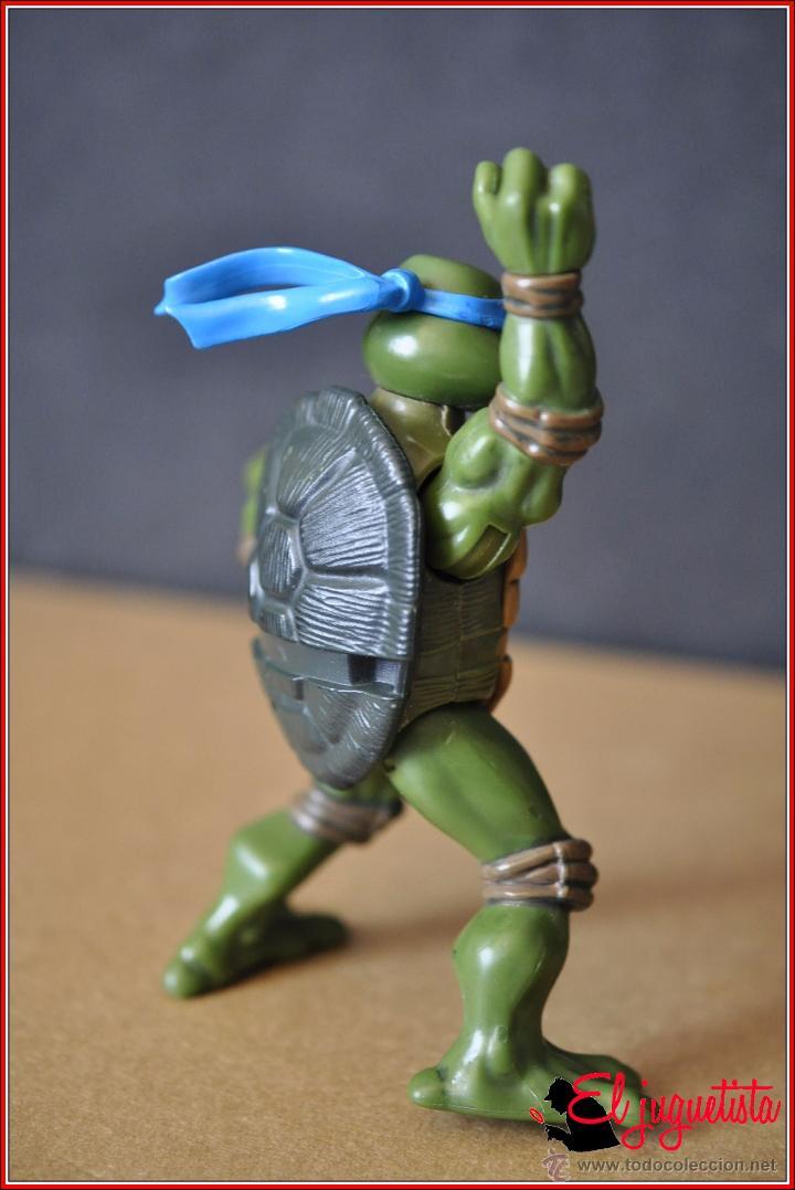 Figuras y Muñecos Tortugas Ninja: TORTUGAS NINJA - MIRAGE ESTUDIOS - PLAYMATES TOYS 2002 - LEONARDO - Foto 4 - 49883969