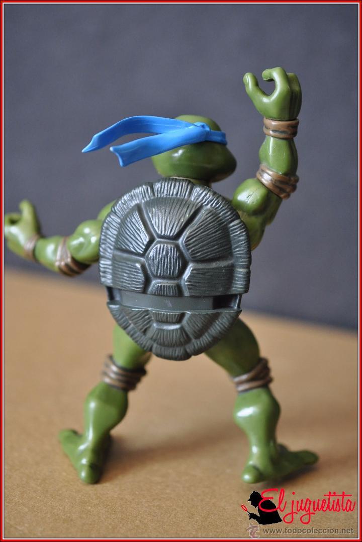 Figuras y Muñecos Tortugas Ninja: TORTUGAS NINJA - MIRAGE ESTUDIOS - PLAYMATES TOYS 2002 - LEONARDO - Foto 5 - 49883969