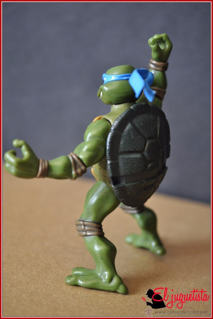 Figuras y Muñecos Tortugas Ninja: TORTUGAS NINJA - MIRAGE ESTUDIOS - PLAYMATES TOYS 2002 - LEONARDO - Foto 6 - 49883969
