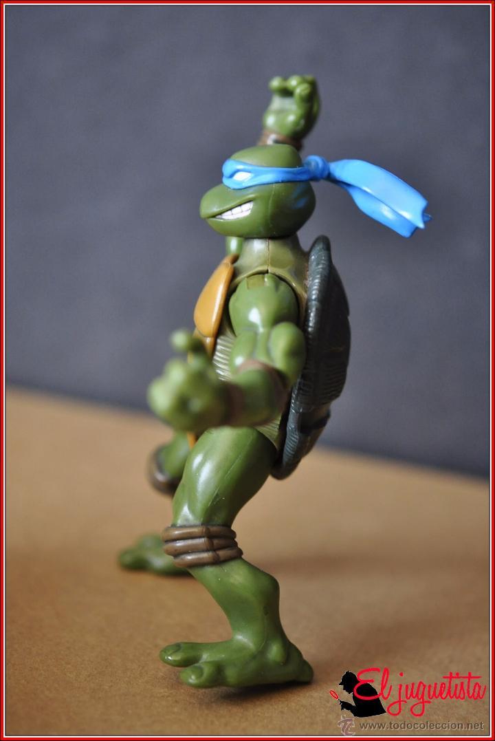 Figuras y Muñecos Tortugas Ninja: TORTUGAS NINJA - MIRAGE ESTUDIOS - PLAYMATES TOYS 2002 - LEONARDO - Foto 7 - 49883969