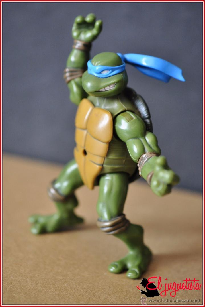 Figuras y Muñecos Tortugas Ninja: TORTUGAS NINJA - MIRAGE ESTUDIOS - PLAYMATES TOYS 2002 - LEONARDO - Foto 8 - 49883969