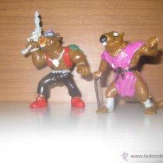 Figuras y Muñecos Tortugas Ninja: TORTUGAS NINJA, 2 RATAS.1988. Lote 50289964