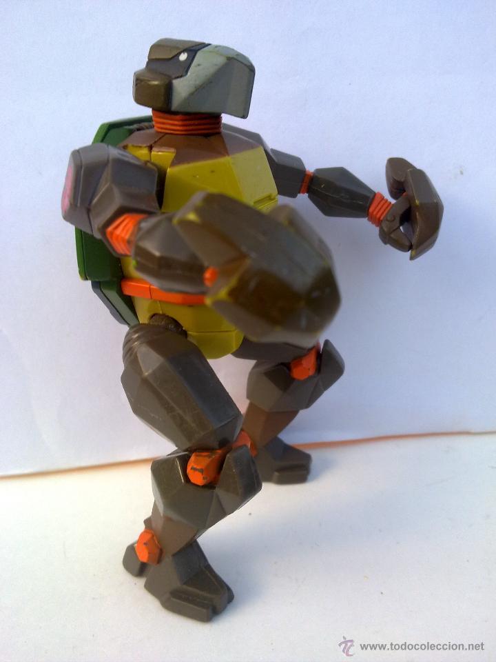 TORTUGAS NINJA TRANSFORMERS NINJA TURTLES MIKELANGELO TRAJE BLINDADO TMNT (Juguetes - Figuras de Acción - Tortugas Ninja)