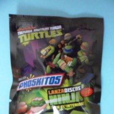 Figuras y Muñecos Tortugas Ninja: TORTUGAS NINJA TMNT TEENAGE MUTANT NINJA TURTLES LANZA DISCOS NINJA PHOSKITOS VIACOM 2014. Lote 50742598