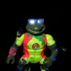 Figuras y Muñecos Tortugas Ninja: LEONARDO TORTUGA PLAYERA - TORTUGAS NINJA SERIE DE TV, SERIE CLASICA 1987. . Lote 50790423