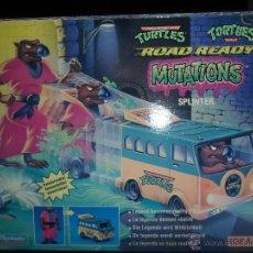 Figuras y Muñecos Tortugas Ninja: SPLINTER NUEVO - TORTUGAS NINJA MUTATIONS - TRANSFORMABLE EN LA FURGONETA - 1993 SERIE CLASICA. Lote 51322068
