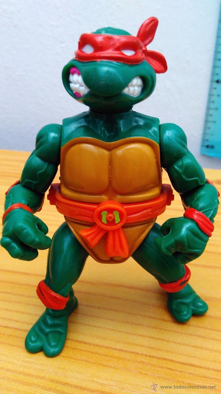 TEENAGE MUTANT NINJA TURTLES TORTUGAS NINJA TORTUGA NINJA STORAGE SHELL A FALTA DE CAPARAZÓN 1990 (Juguetes - Figuras de Acción - Tortugas Ninja)