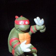 Figuras y Muñecos Tortugas Ninja: TORTUJA NINJA RAPHAEL EN PVC - LAS TORTUGAS NINJA 80'S. Lote 52295276