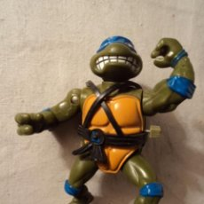Figuras y Muñecos Tortugas Ninja: PLAYMATES TOYS - MIRAGE STUDIOS 1988 - TORTUGAS NINJA FUNCIONA A CUERDA 12 CMTS.R30. Lote 52717412