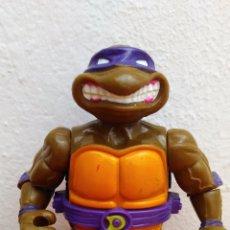 Figuras y Muñecos Tortugas Ninja: FIGURA DE ACCIÓN TORTUGA NINJA TMNT TORTUGAS NINJA 1990 STORAGE SHELL DONATELLO. Lote 52770929
