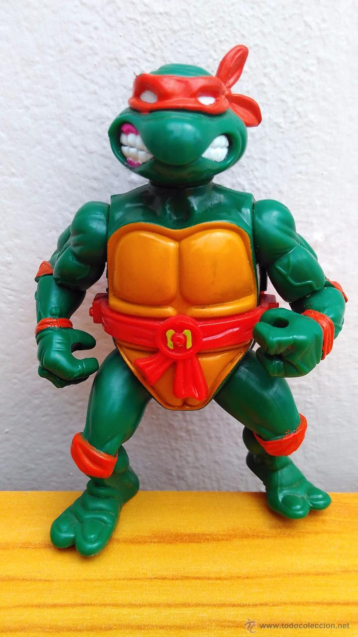 FIGURA DE ACCIÓN TORTUGA NINJA TMNT TORTUGAS NINJA 1990 STORAGE SHELL MIKE (Juguetes - Figuras de Acción - Tortugas Ninja)